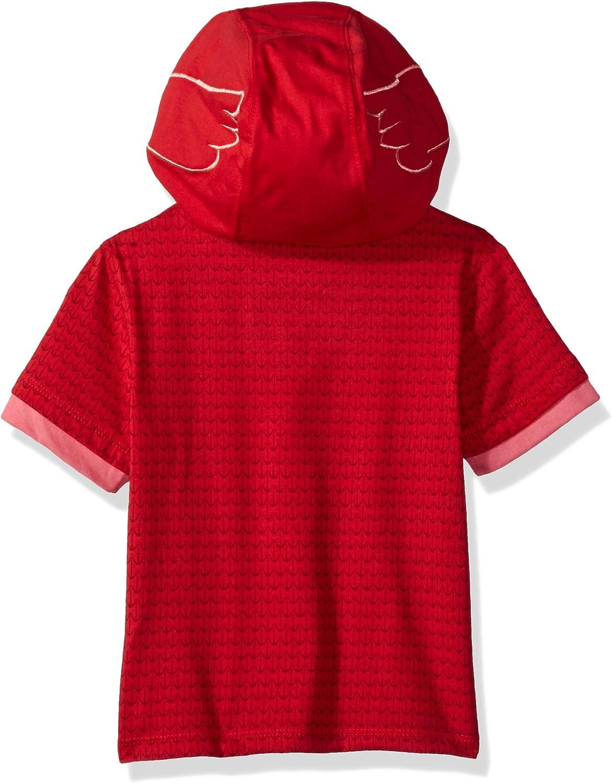 PJ MASKS Girls Owlette Hoodie and Hooded Tee