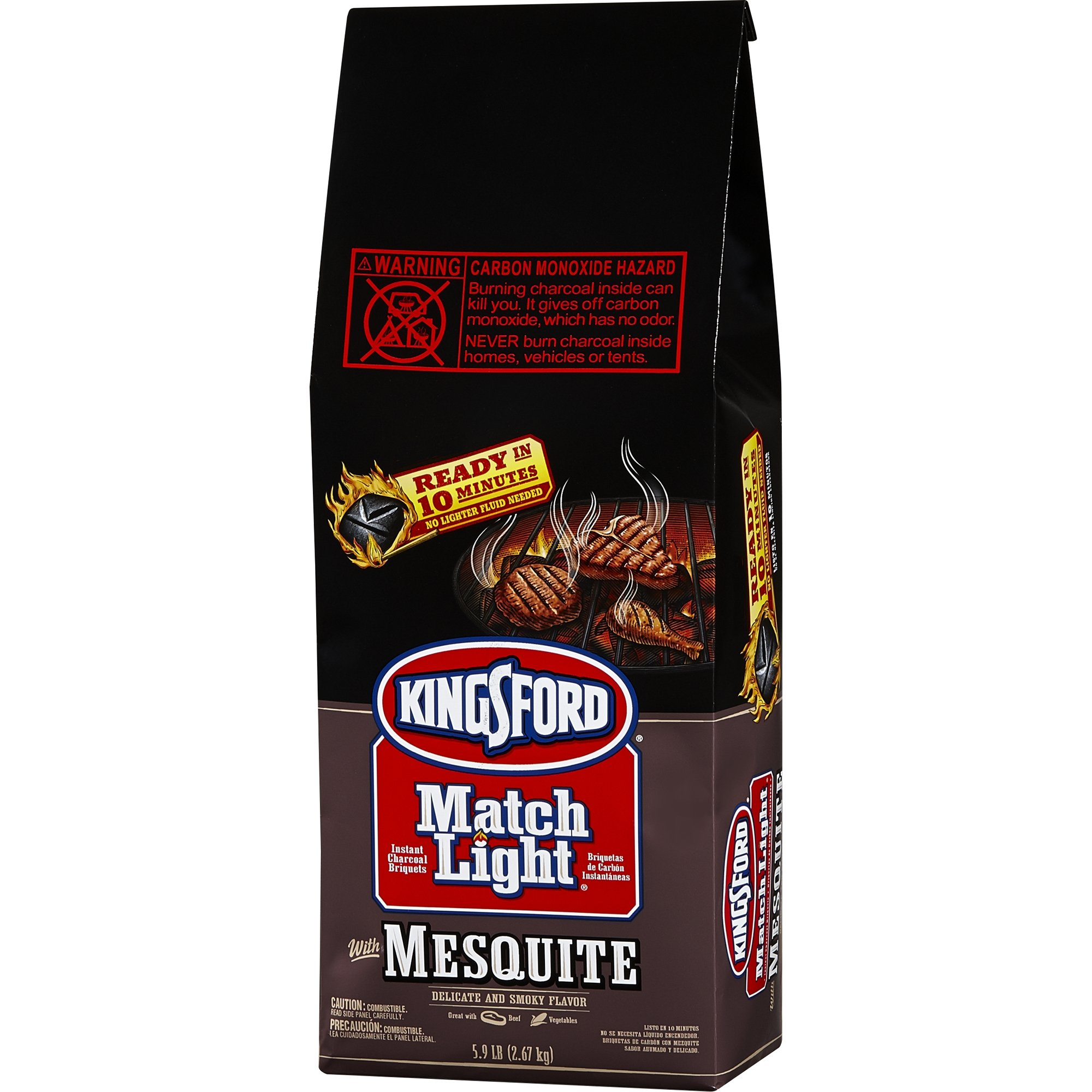 Kingsford Match Light Charcoal with Mesquite 5.9 LBS by Kingsford