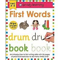 First Words: Wipe Clean Workbooks