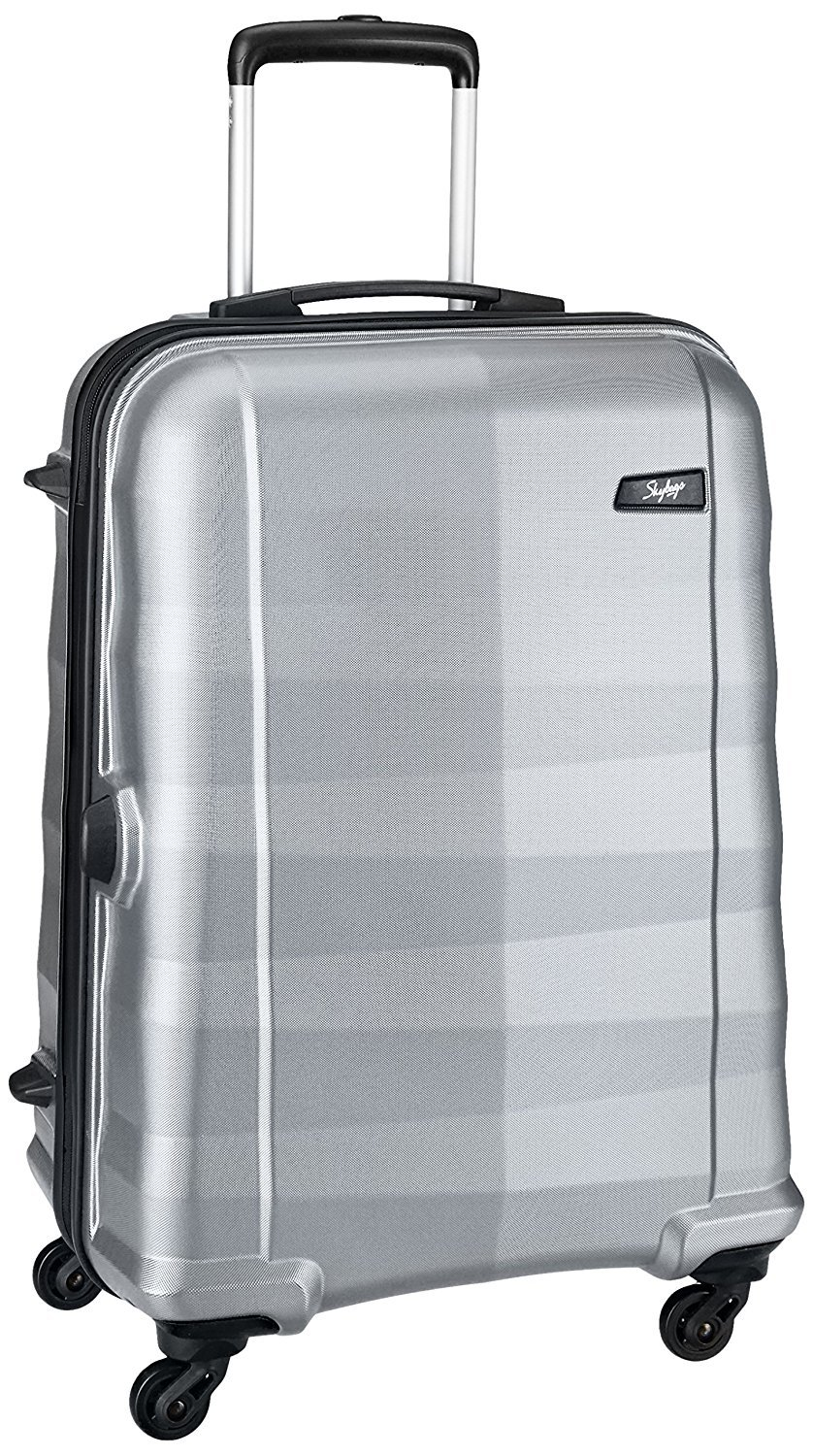 Skybags Auckland Polycarbonate 65.8 Cms Silver Hardsided