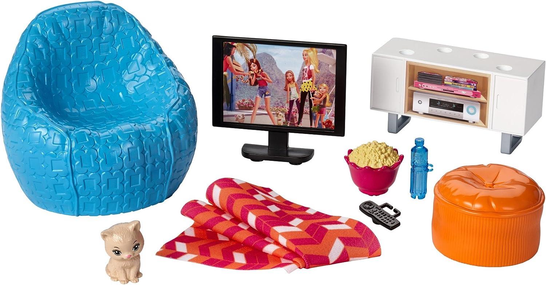 Amazon.es: Barbie Muebles de la casa, TV y accesorios casa de ...