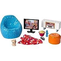 Barbie Muebles de la casa, TV y accesorios