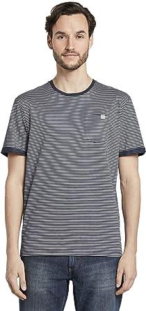 Tom Tailor Streifen Camiseta para Hombre: Amazon.es: Ropa y accesorios
