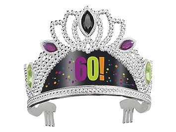 60th Birthday Cheer Tiara Party Hat