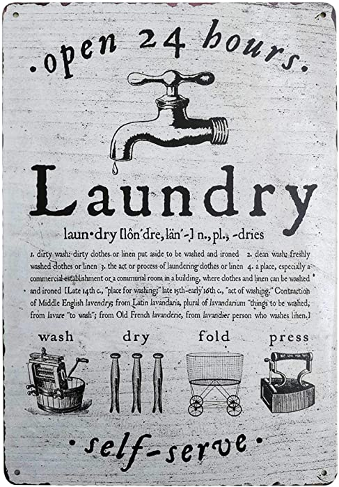 Top 9 Open Laundry Sign