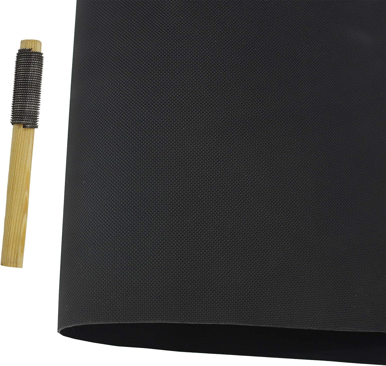 Shoe Sole Repair Rubber Sheet Pad Anti Slip Soling Sheet Half Soles 22.44 X 14.96 inch Black, Thickness 3.2mm
