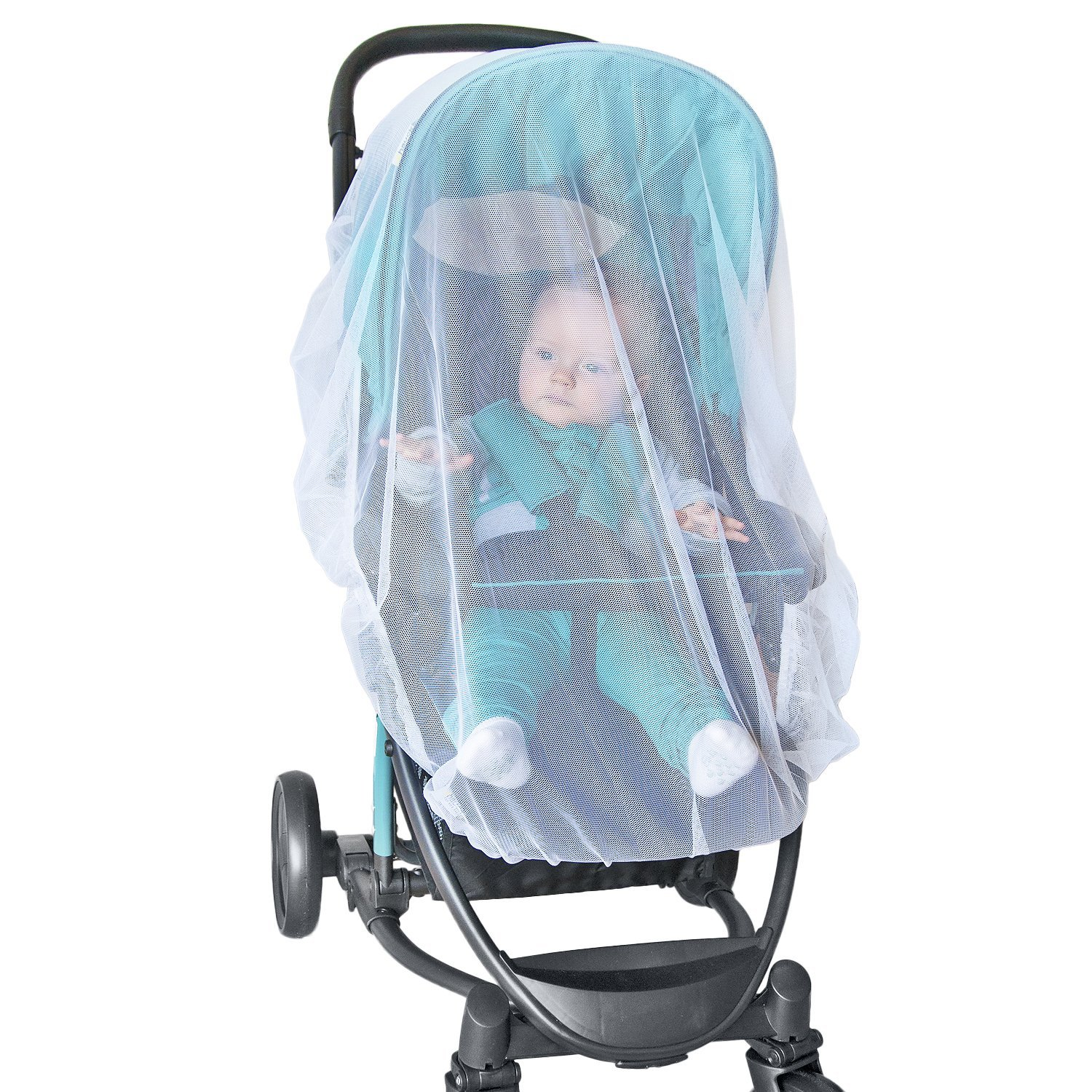 Baby Mosquito Net For Stroller Car Seat Bassinet Premium Infant Bug Protection Jogger