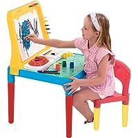 Mesinha Pequeno Artista Com Cadeira E Quadro 9052 - Bell Toy