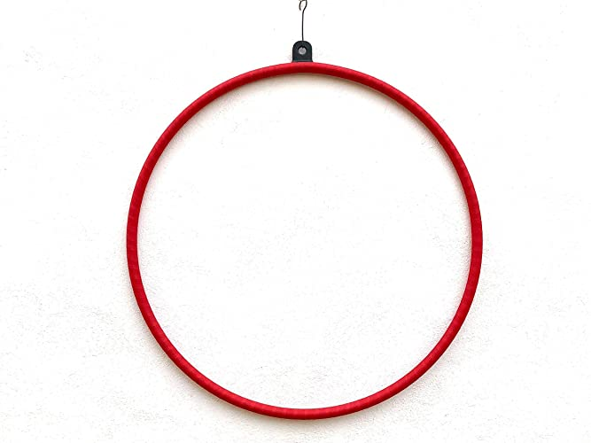 Aro aéreo acrobático,aerial hoop,lira para hacer acrobacias aéreas como en telas de yoga,pilates,para acróbatas de circo,lyra,trapecios,etc.