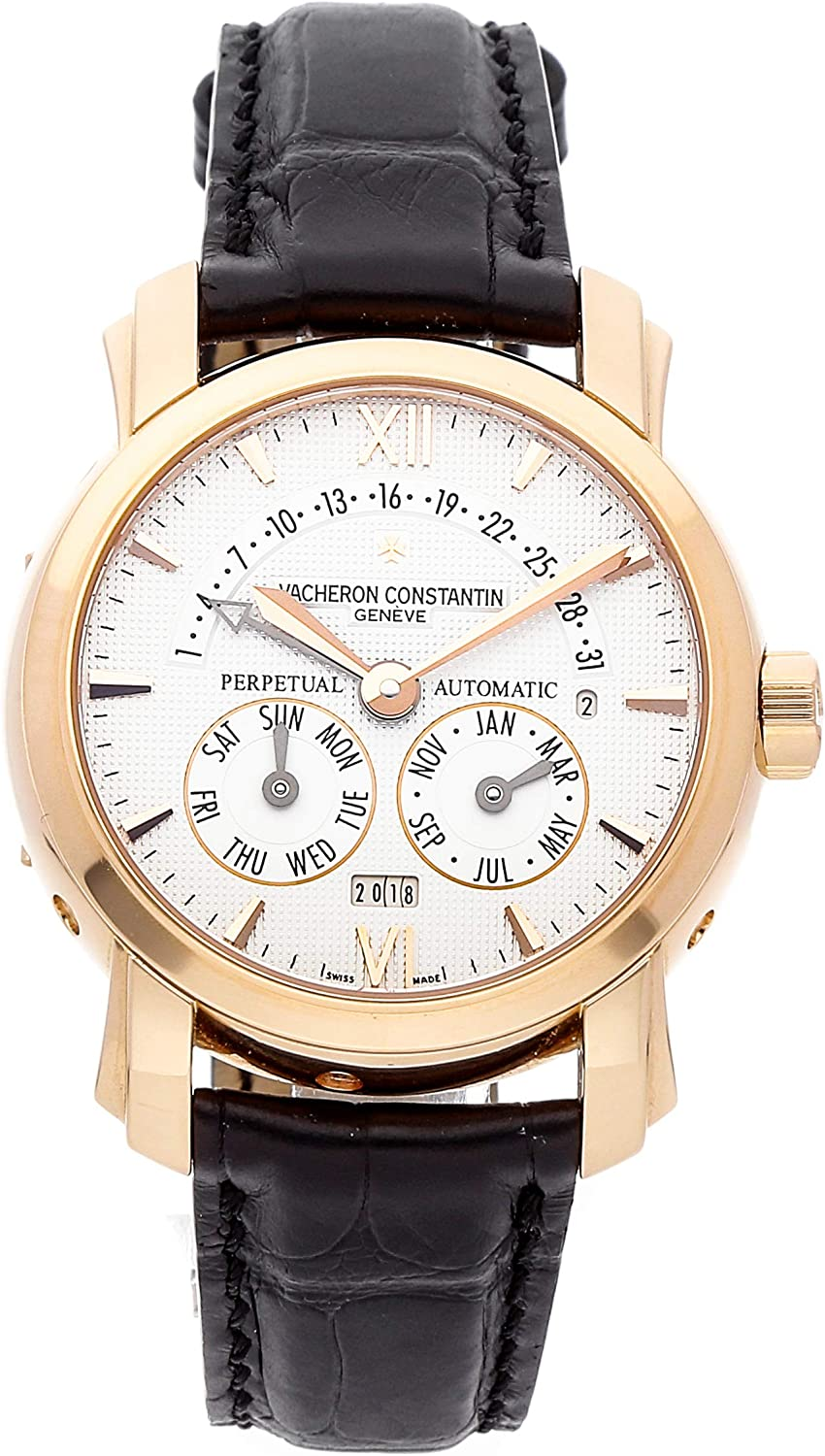 Vacheron Constantin 31-Day Retrograde Perpetual Calendar Mechanical (Automatic) Silver Dial Mens Watch 47031/000R-8955 (Certified Pre-Owned)