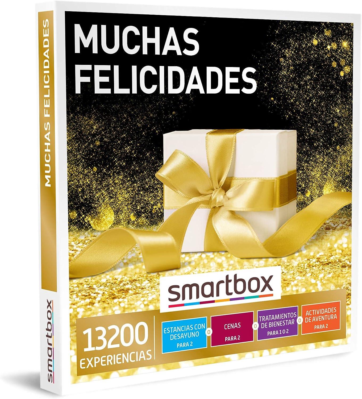 SMARTBOX - Caja Regalo - Muchas felicidades - Idea de Regalo - 1 Experiencia de Estancia, gastronomía, Bienestar o Aventura para 1 o 2 Personas: Amazon.es: Deportes y aire libre