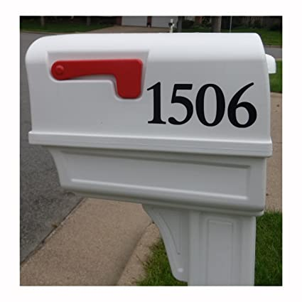 Personalized Custom Front Door, House, Street, U0026 Mailbox Numbers/Letters  Premium Matte