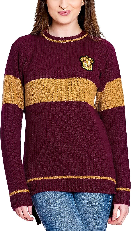 Harry Potter Quidditch de Gryffindor suéter de Lana de Cordero Original de la película