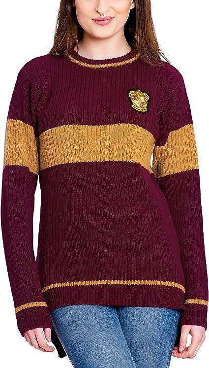 Harry Potter Quidditch de Gryffindor suéter de Lana de ...