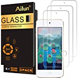 Ailun Screen Protector for iPod Touch 7 Touch 6 Touch 5 Curved Edge Tempered Glass 3Pack Compatible with iPod Touch 7th Gener