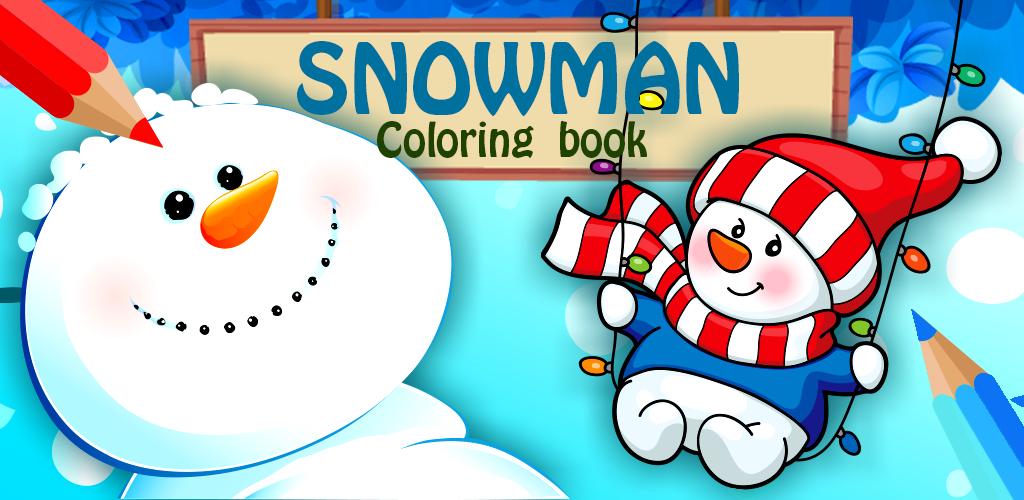Libro de colorear de muñeco de nieve: Amazon.es: Appstore ...