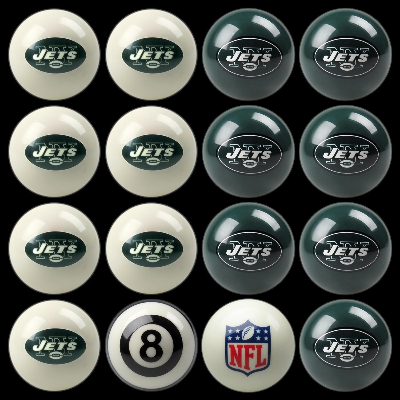 【半額】 NFL New York Jets B002V2U2YE New Jets Billiards Ball Set B002V2U2YE, 小さな庭園:9ec7364f --- arianechie.dominiotemporario.com