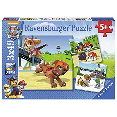 Ravensburger 9239 Paw Patrol Jigsaw Puzzles, Multi-Colour: Toys & Games