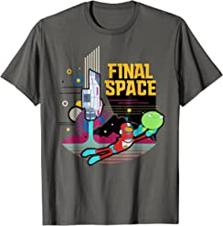 Final Space Retro Style T-shirt