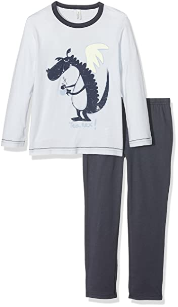 United Colors of Benetton Tea Rex Long Sleeve T-Shirt Set, Conjuntos de Pijama