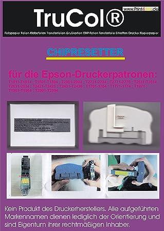 Chip Resetter Für Epson Expression Home Xp Serie Amazonde