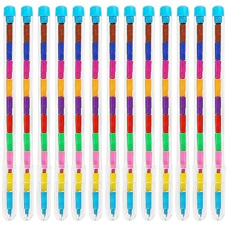 THE TWIDDLERS 36 lápices de Punta Intercambiable - 11 Colores Distintos - Ideales como Detalles de Fiesta, Rellenos para Bolsas de Fiesta, Cajas de ...