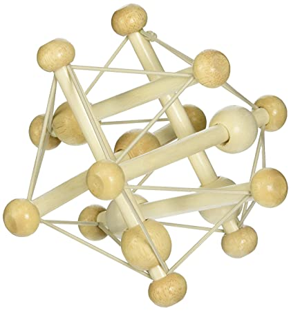 Skwish Natural Rattle and Grasping Toy