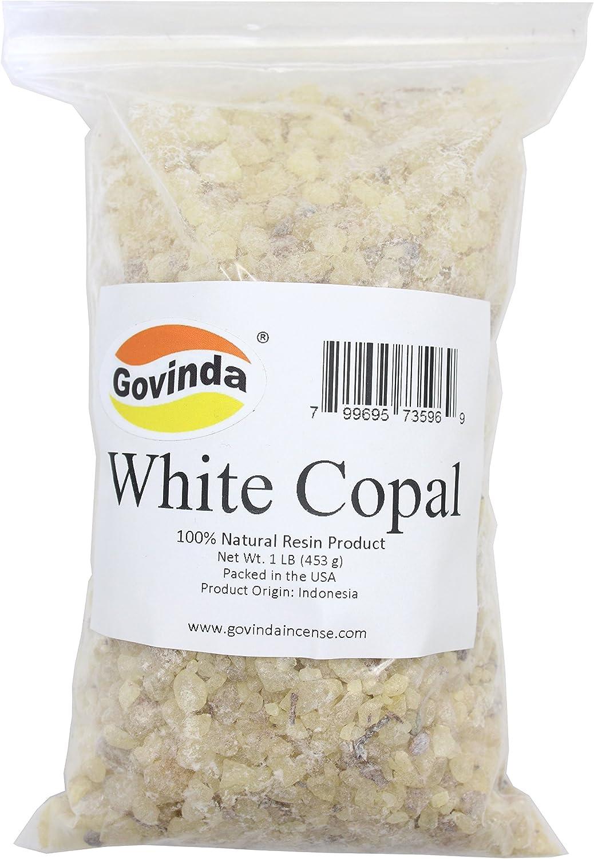 Govinda - White Copal Incense Resin 1 lb
