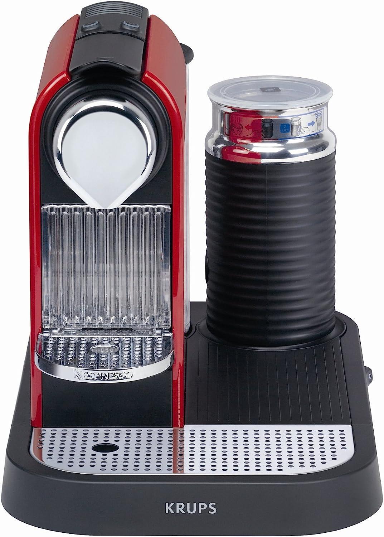 Nespresso Citiz & Milk Red XN7106 Krups - Cafetera monodosis (19 ...