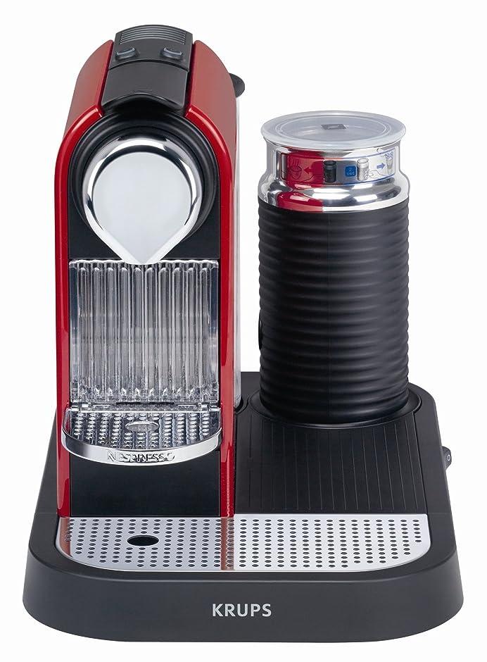 Amazon.de: Krups XN 7106 Nespresso CitiZ & Milk fire-engine red ...