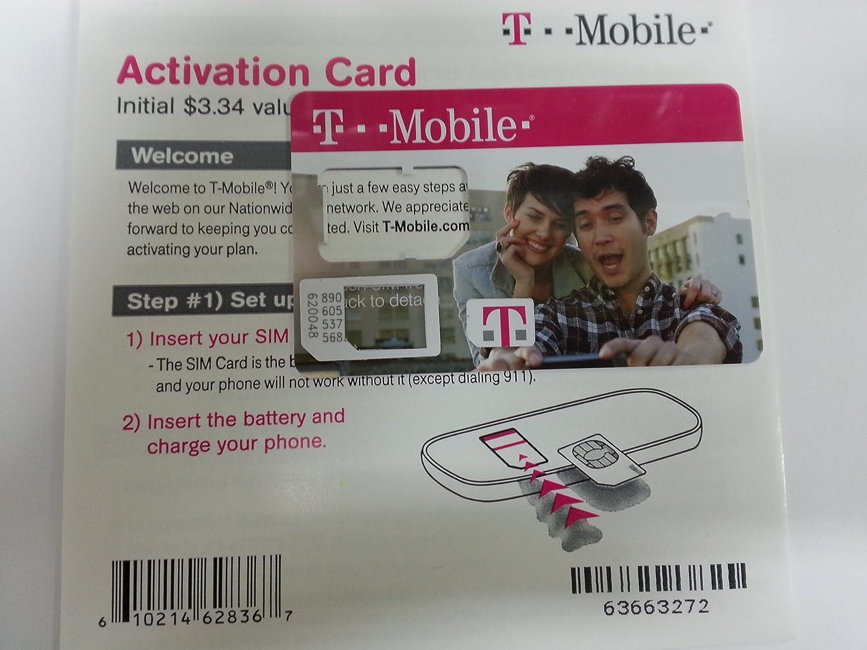 T-Mobile SIM Card Activation Kit T-Mobile