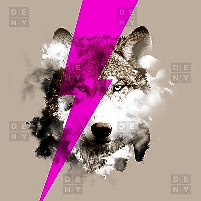 Deny Designs Robert Farkas Wolf Rocks Duvet Cover, King