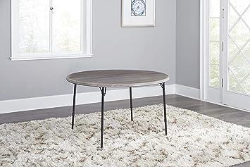Amazon.com: Cosco 14165lgw1e 48 en. Mesa plegable redonda en ...