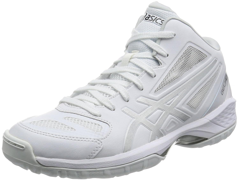 [アシックス] バスケットシューズ GELHOOP V 9 (旧モデル) B01M6B1AR6 27.0 cm ホワイト/シルバー