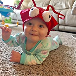 Amazon.com: Mullins Square Lobster Baby Costume, Red, 6-18 Months: Clothing