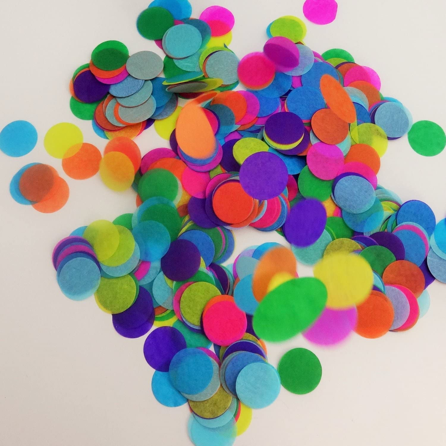 Confetti Circles 4 Different Sizes of Circles Dots Dots Table Confetti 9 Different Colors