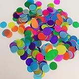 Confetti Circles 1 1/4 9 Different Colors