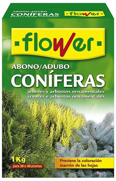Flower 10518 10518-Abono coníferas y arbustos, 1 kg, No Aplica, 7x18x25
