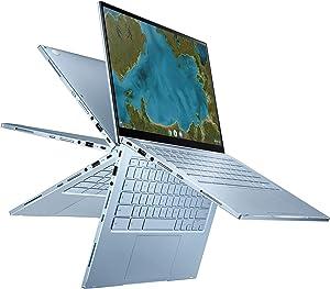 ASUS Chromebook Flip C433 2 in 1 Laptop, 14