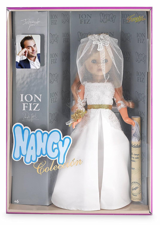Muñecas Modelo Traje De Nancy Novia Ion Fiz Reedicion Completo Muñecas Modelo Y Accesorios sin Muñeca Y Sin Zapatos