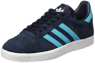 adidas Gazelle, Baskets Basses Homme, Bleu (Legend Ink/Energy Blue/Footwear