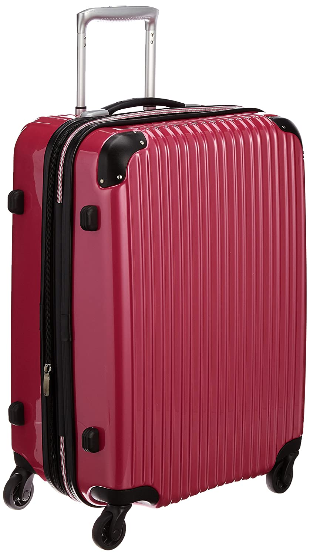[シフレ] スーツケース ハードジッパケース シフレ 1年保証 保証付 68L 55 cm 4kg B0105TY2TA メタリックマゼンタ