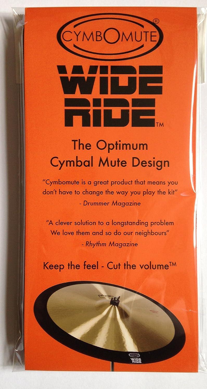 Silenciador de platillos almohadillado Cymbomute WIDE RIDE 22//23 en color negro