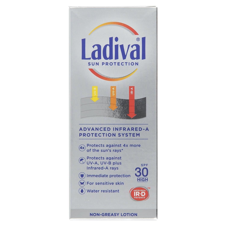 Ladival Loción SPF 30 de protección solar, 75 ml: Amazon.es ...