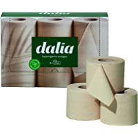DALIA 4TN30AA040 Förpackning med 6 rullar toalettpapper dubbelskikt organisk, bambu, oblekt