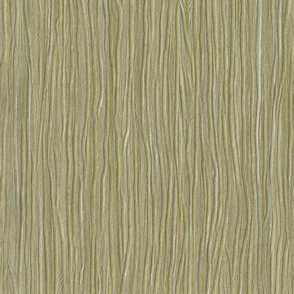 Forest Yellow Green Embossed Textured Wallpaper For Walls - Double Roll - By Romosa Wallcoverings