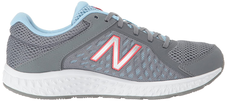 New Balance Women's 420v4 Cushioning Running Shoe B06XS3JQNV 7.5 D US Grey/Blue