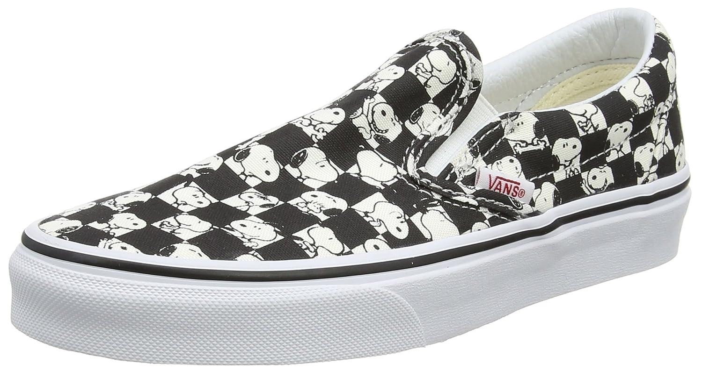 b26ee8796bac56 Vans Peanuts Snoopy Checkerboard Slip-on (Men 7.5 Women 9)  Amazon.ca  Shoes    Handbags