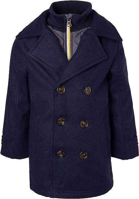 28485eaca815 Amazon.com  Sportoli Boys Classic Wool Look Lined Winter Vestee ...