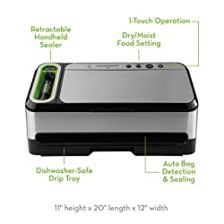 foodsaver vacuum sealer (v4840 model)